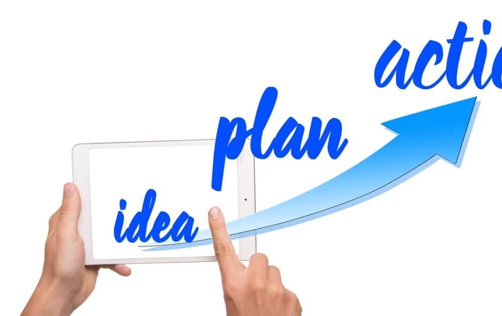 Bild Idee-Plan-Aktion